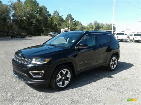 jeep compass limited black 2018 black crystal pearl jeep compass limited