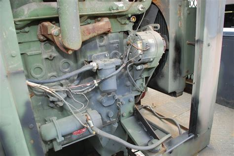 hrs military diesel welder  perkins  engine newwelding shop inv ebay