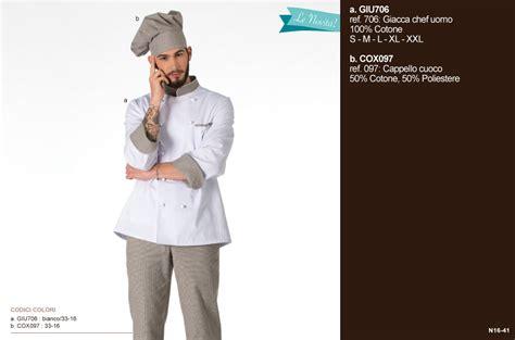 cuoco in cucina abbigliamento professionale per chef giacche per cuochi