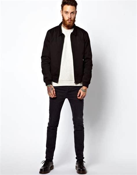Jaket Forwad Harrington Black harrington jacket asos black and jackets