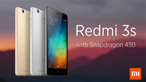 Ultrathin Smile Xiaomi Redmi 3s Xiaomi Redmi 3s And Redmi 3x Official Specs Prices And