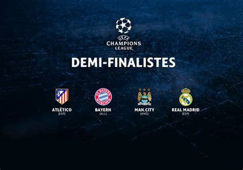 Calendrier Chions League Demi Finale 2016 Actu Foot Ligue Des Chions 2017