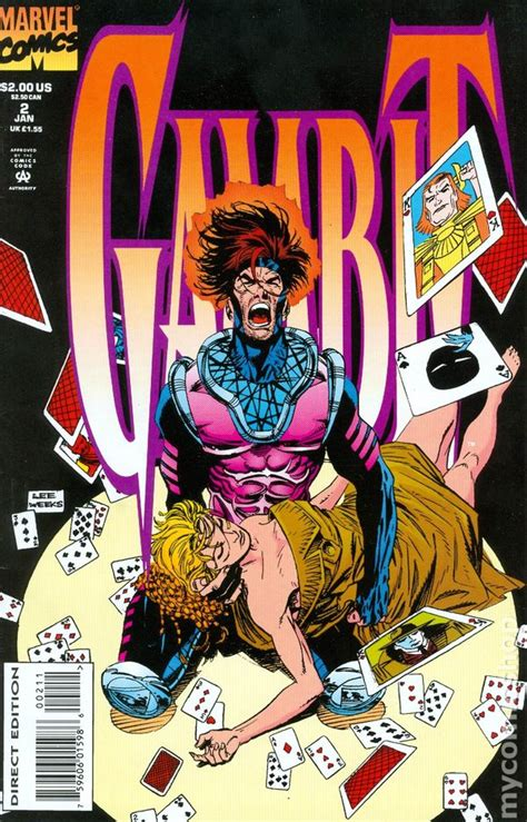 Rogue Comic Book Cover Search gambit 1993 1st series marvel comic books