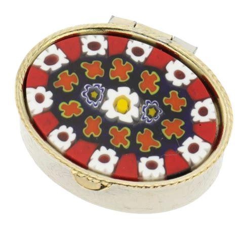murano pill boxes decorative pill boxes for purse