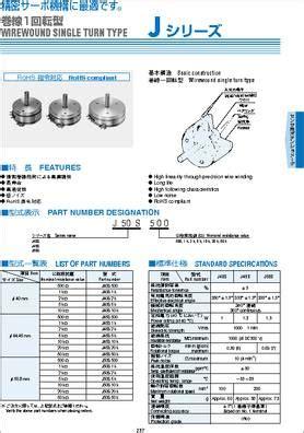 5k ohm resistor datasheet datasheet j50s 5k pot 5k ohm 1 5w wirewound linear