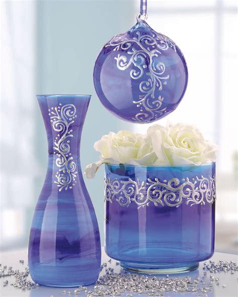 Modèle De Décoration De Vase En Verre