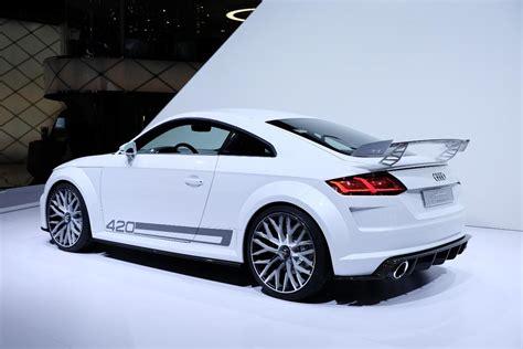 audi quattro sport concept audi tt quattro sport concept 420 ch pour le futur tt rs