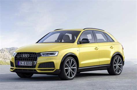 Audi Q3 News by Audi Q3 Black Edition Joins Updated 2017 Range Autocar