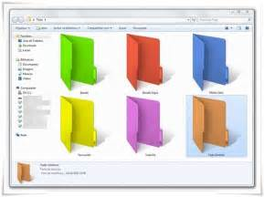 folder color change the color of folders in windows 7 and windows 8