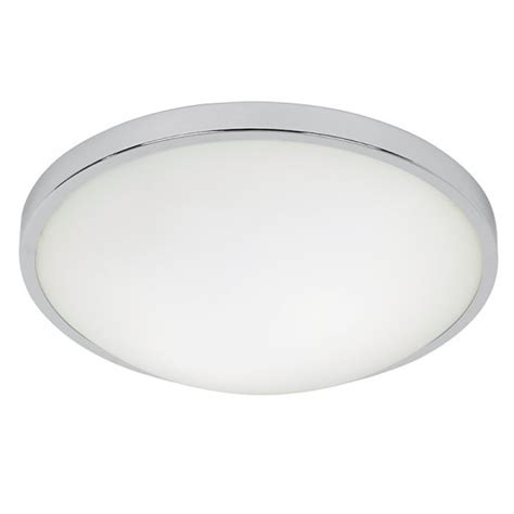 Energy Saving Ceiling Lights by Endon El 20097 Enluce 2 Light Energy Saving Flushed