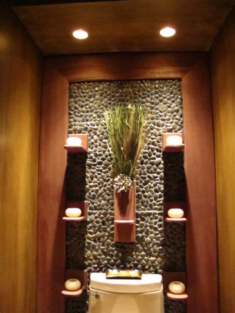 powder room wall decor waterfront townhome extension remodel contemporary