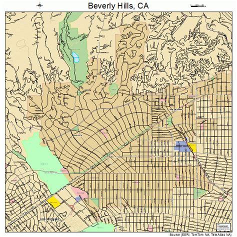 california map beverly beverly california map 0606308