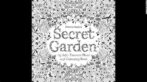 secret garden coloring book at target coloring books topping bestseller lists cnn