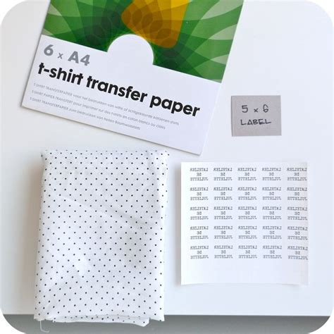 Make Your Own Transfer Paper - 12 curated labels maken ideas by bellahakenenzoo custom