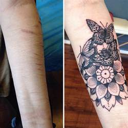 tattoos to cover up wrist scars 10 amazing tattoos that turn scars into works of