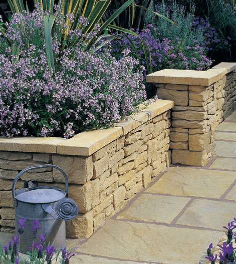 garden walling uk cotstone reproduction drystone garden walling stonemarket