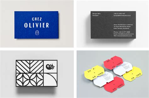 who makes the best business cards best business card business card design