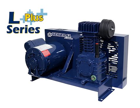 base mounted lubricated air compressors l series general air products