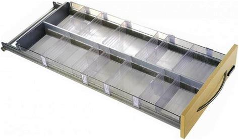 separatori per cassetti cassettiere farmacie parafarmacie cassettiera trasparente