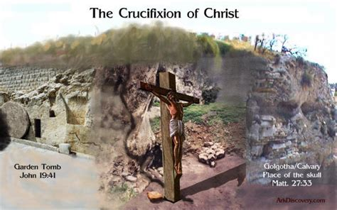 ark   covenant including  crucifixion site