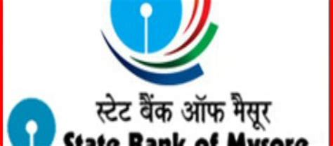 state bank of mysore state bank of mysore recruitment 2014 15 clerical posts 725