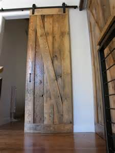 Reclaimed Sliding Barn Doors Sliding Barn Door Reclaimed Wood Ideas For The Home