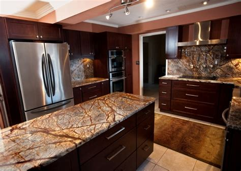 kitchen granite stone profile rainforest brown granite rainforest green
