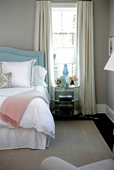 baby blue bedroom white and navy bedding transitional bedroom