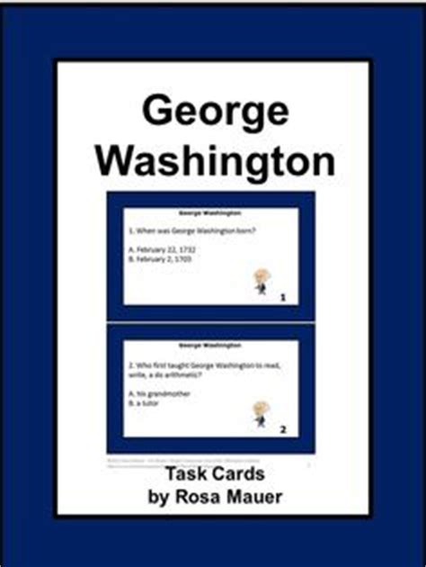 George Washington Mba Questions by 1000 Images About Novel Studies Grades 3 6 On