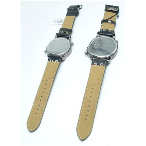 Oulm Jam Wanita Leather Band Fashion 9591l Black oulm quartz leather band fashion 9591l black jakartanotebook