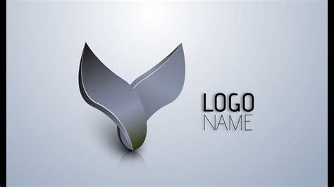 Adobe Illustrator CS6 | 3D Logo Design Tutorial (Wings ... Y Logo 3d