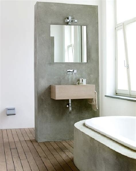 slatted teak modern bathroom flooring ideas i like the concrete with wood slat floor maybe a small