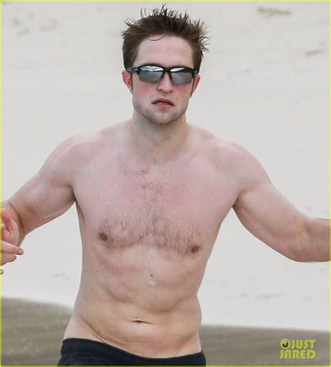New Beckham Edward 8095 robert pattinson bares ripped while shirtless in antigua photo 4028195 robert pattinson