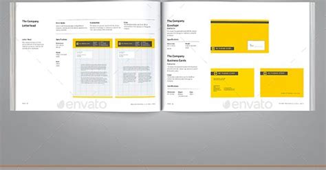 template indesign libro brand manual template indesign indd design download http