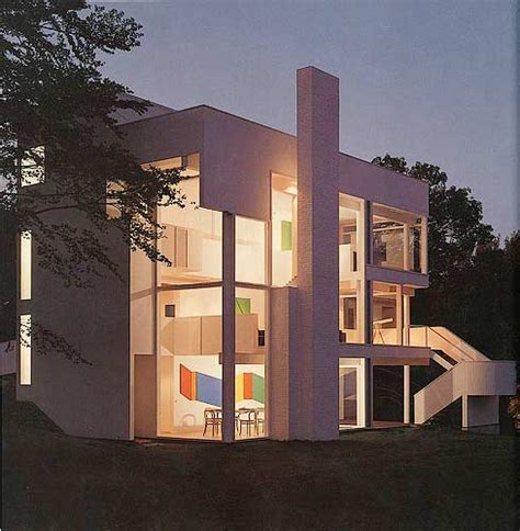 the smith house the smith house by richard meier in darien ct photograph exterior view