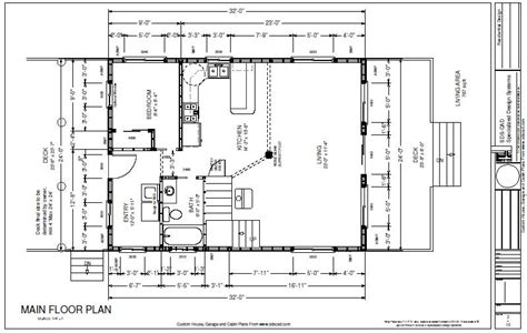 blueprints for cabins plan 221 24 x 32 custom cabin design free house plan