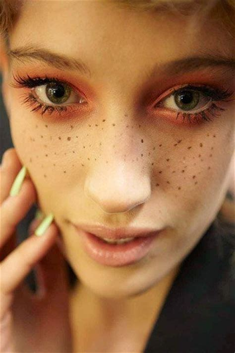 fake freckles forevs hair make up nail amp etc pinterest