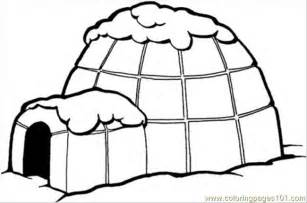 igloo coloring page coloring pages igloo architecture gt houses free