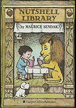 nutshell library caldecott collection nutshell library caldecott collection amazon co uk maurice sendak 9780060255008 books