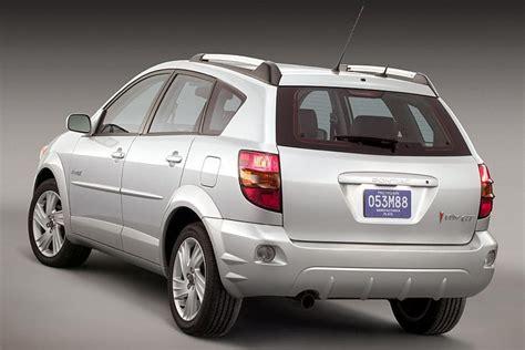 pontiac vibe recall 2003 2005 pontiac vibe overview cars