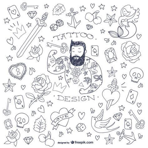 is doodle free to use doodle symbols vector free
