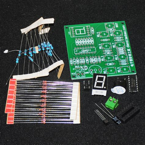 diy integrated circuits 1set intellectual competition quiz 8ways unassembled kits diy suite trousse responder kits