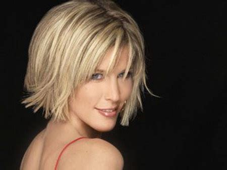 short bobs with flip short blonde haircuts short hairstyles 2016 2017