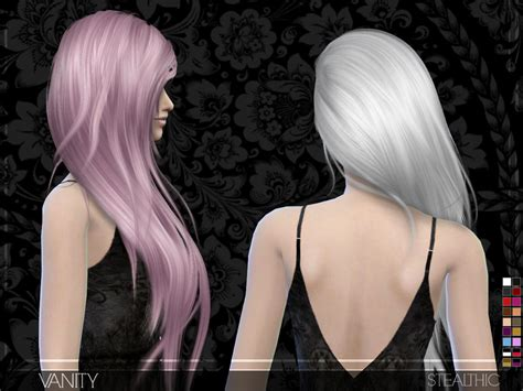 vanity female hair by stealthic at tsr sims 4 updates stealthic vanity female hair