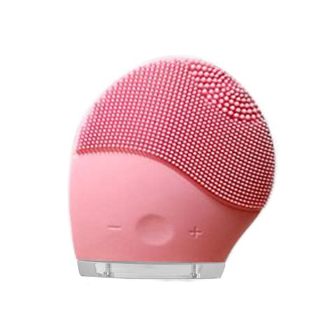 serenity silicone electric facial cleansing brush waterproof electric silicone face wash facial brush