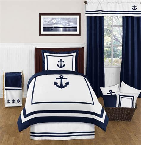 anchor bedding set anchors away nautical 4pc bedding set only 119 99