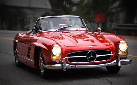 driving   mercedes benz sl   sl pagoda motor trend classic