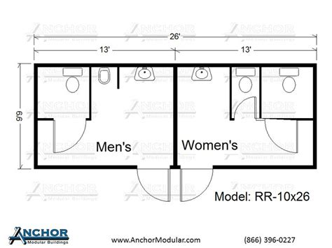 smallest ada bathroom layout modular building floor plans modular restroom and