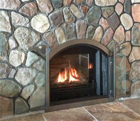 glass fireplace doors fireplace door sets custom