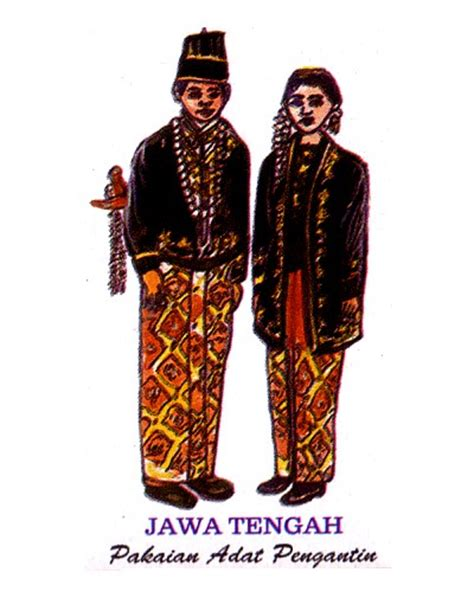 Baju Adat Daerah Jawa kebudayaan jawa tengah kebudayaanindonesia ragam budaya indonesia